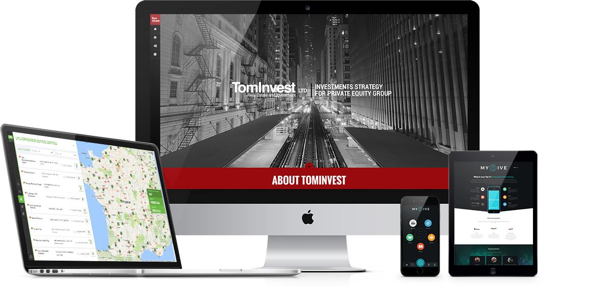 Interneto svetainių kūrimas, mobiliųjų aplikacijų kūrimas